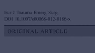 Chronic pain and its impact on quality of life following a traumatic rib fracture
